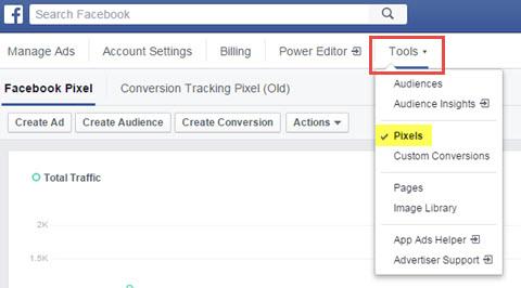 facebook pixel area